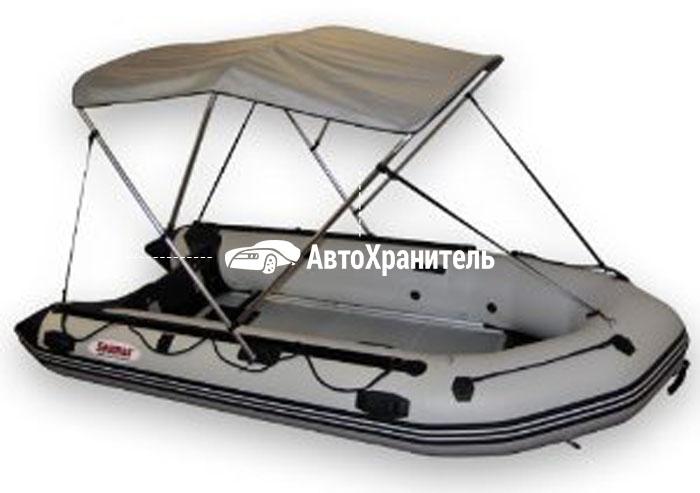 тент крыша на лодку своими руками